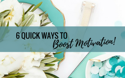 6 Quick Ways to Boost Motivation