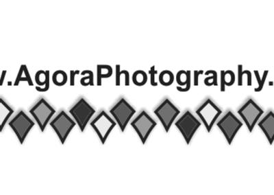 Agora Photography Logo B&W