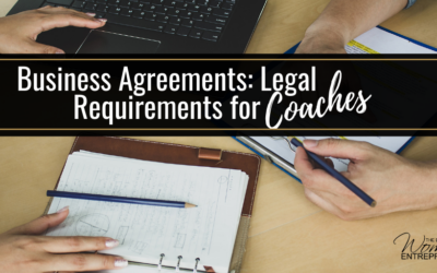 Business Agreements:  Legal Requirements for Coaches